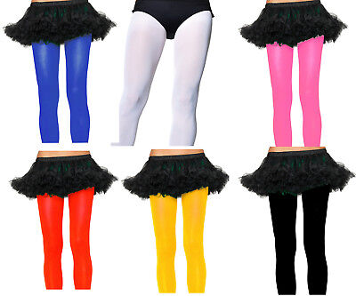 Halloween Costume Leg Avenue Opaque Nylon Tights Pantyhose In 6 Color New