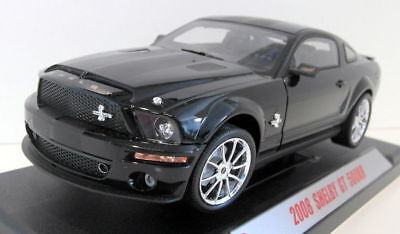 Shelby Collectibles 1/18 Scale Diecast - 01299 2008 Shelby GT 500KR Black