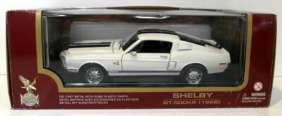Road Signature 1/18 Scale Diecast - 92168 Shelby GT-500KR White