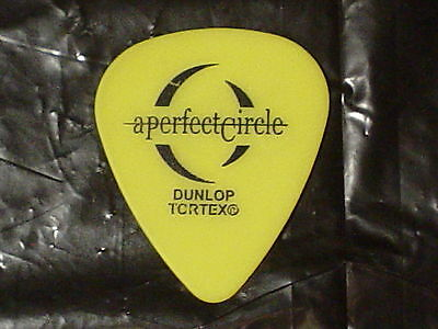 A PERFECT CIRCLE Logo & James Iha Signature 2000 Concert Tour Tool GUITAR PICK
