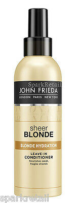 John Frieda SHEER BLONDE Hydration Leave-in Conditioner: All Blonde Shades 200ml