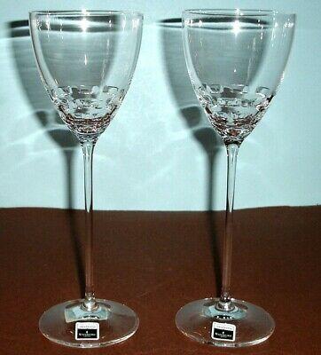 Waterford John Rocha FOLIO 2 Red Wine Glasses SET/2 Crystal #152015 New
