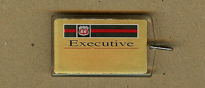 Vintage Phillips 66 Executive Gasoline, Oil, Numbered KEYCHAIN