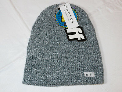 6cd96947bd3 NEFF Daily Beanie knit hat skull cap lid NEW One Size gray heather NF00001  NWT