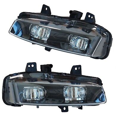 Black Edition Style Front Bumper Fog Lights lamp Range Rover Evoque Dynamic pure