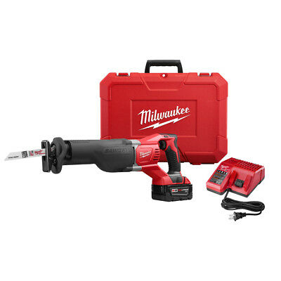 Milwaukee 2621-21 M18 18-Volt 1-1/8-Inch Stroke SAWZALL Reciprocating Saw Kit