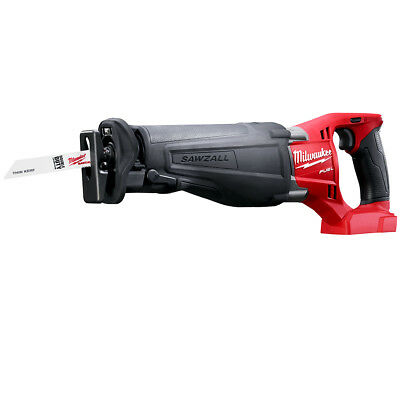 Milwaukee 2720-20 M18 FUEL 18-Volt SAWZALL Reciprocating Saw - Bare Tool