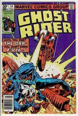GHOST RIDER #54, FN+, Motocycle, Evil Orb, Movie, 1973, more GR in store