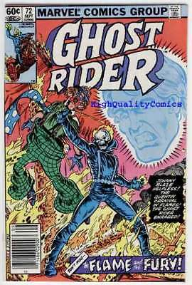 GHOST RIDER #72, VF, Motocycle, Clown, Movie, 1973, more GR's in our store