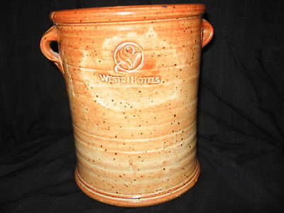 Westin Hotels Discounted Ceramic Ice Bucket With Logo Imprinted Excellent