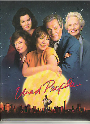 USED PEOPLE PRESS KIT SHIRLEY MacLAINE KATHY BATES TANDY MARCIA HARDEN MARCELLO