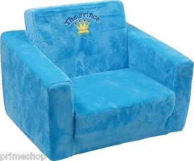 "Plush Chair "" The Prince "" 2 pieces fold-out new"