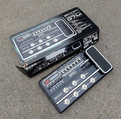 Zoom G7.1ut Electric Guitar Multi Effects Pedal USED! RKZMP300917