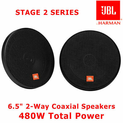"VW Polo 2001-2009 JBL 6.5"" 17cm 2-Way Coaxial Speakers 270W Door Speakers"