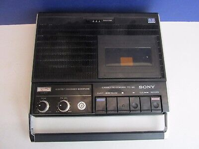 vintage rare SONY TC-95 cassette corder tape recorder player vintage RETRO x71