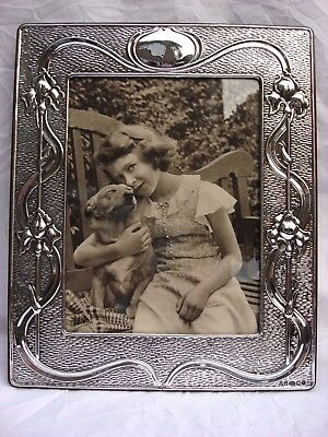 XLarge Splendid Finest Quality 999 Silver London Hallmark Britannia Photo Frame.