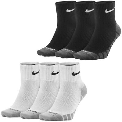 Nike Dry Leightweight Quarter Trainingssocken 3er Pack Sportsocken Strümpfe Sock