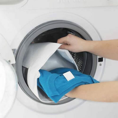 SALE - 10 WHITE LAUNDRY WASHING BAGS for Lights - Wholesale Job Lot 50x50cm 1449