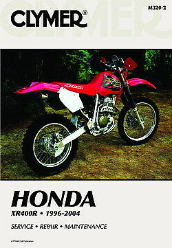 Honda XR400R XR400 1996-2004 Clymer Manual M3202 NEW