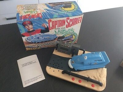 Captain Scarlet and the Mysterons Talking Alarm Clock Brand New in Box