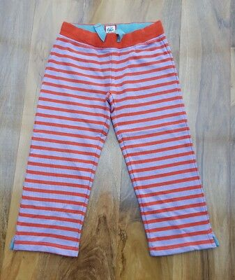 Mini Boden Girls Favourite Cropped Sweatpants Stripes. Size 7 years. Brand new.