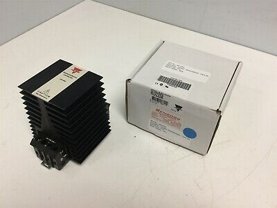 New Carlo Gavazzi RN1A23D50 Solid State Relay, Single Pole, Voltage: 5-32 VDC