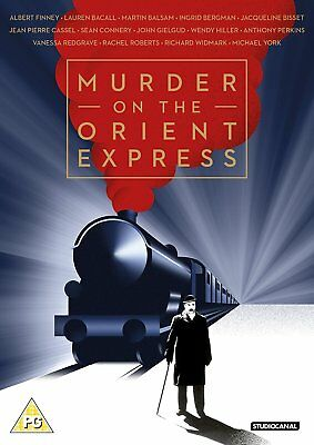 Murder On The Orient Express  Brand New Sealed Uk Dvd
