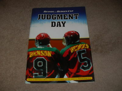 Sheffield Steelers v Nottingham Panthers 2/12/95 B&H Cup Final