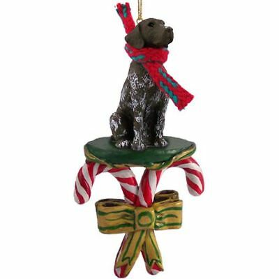German Shorthaired Pointer Dog Candy Cane Christmas Tree ORNAMENT