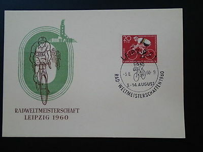 bicycle cycling 1960 FDC Germany 67031