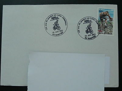 bicycle cycling race 2003 postmark on cover (2)