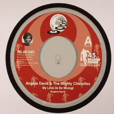 """DAVIS, Angela & THE MIGHTY CHEVELLES - My Love (Is So Strong) - Vinyl (7"""")"""