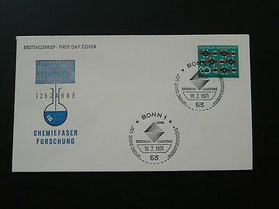 chemistry FDC 1971 Germany 65165