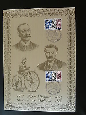 bicycle cycling penny farthing FDC folder 1983
