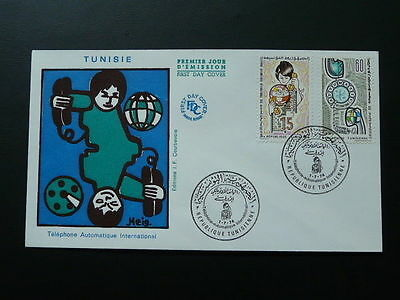 telephone FDC Tunisia 60534