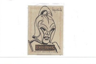 Lord Of The Rings Sketch Cards.....  Last Few In Stock    Choose