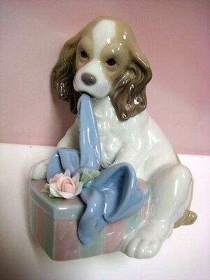 Can't Wait Dog Figurine Utopia By Lladro   8312