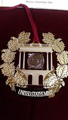 United States Mint 1998 Holiday Ornament Nice !