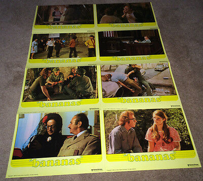 BANANAS Movie Poster 1971 Lobby Card Style Woody Allen Comedy R80 Revolution