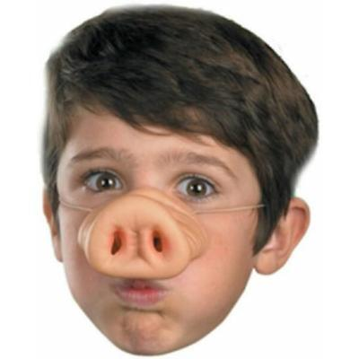 Pig Nose Luxury Dress Costume Up Prop Fun Party Favor Rubber Mask Supplies LC