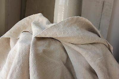 Antique hemp French sheet 18th / 19th 79 in by 98 inches HEAVY 6 pounds!