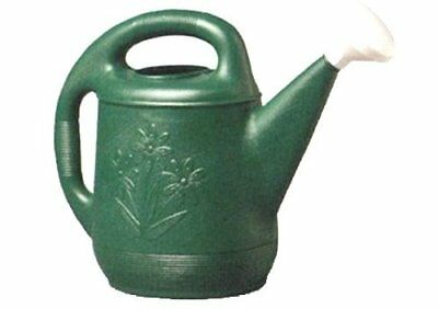 NEW Plastic Watering Can - Green - 2 Gal (30301)