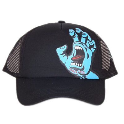 |3SF17227-BLK| Gorra Santa Cruz – Screaming Hand negro 2017 Niños Polycotton San