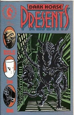 Dark Horse Presents #34 (Aliens/predator Prelude) 1989