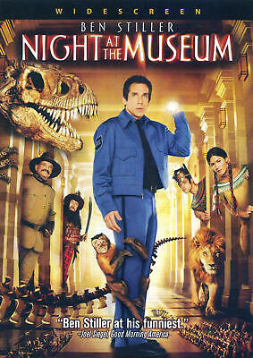Night at the Museum (DVD, 2009, Widescreen) NEW