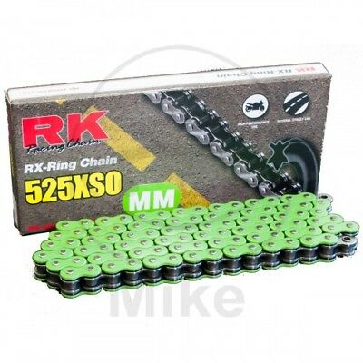 RK 525 XSO x 116 Links Green RX-Ring Drive Chain