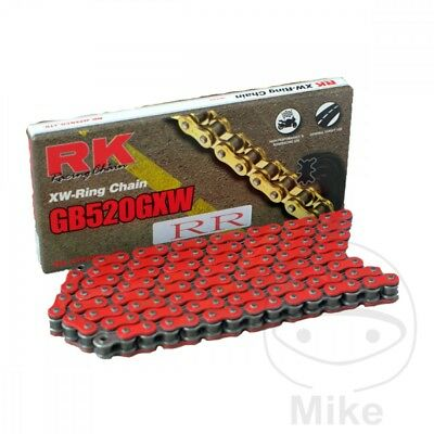 RK 520 GXW x 120 Links Red XW-Ring Drive Chain