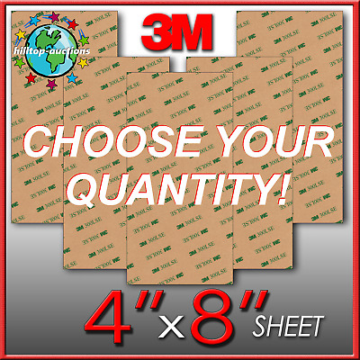 LOWEST PRICES 3M 300LSE THIN+STRONG DOUBLE SIDED ADHESIVE 1-15 8X4 SHEETS! tape