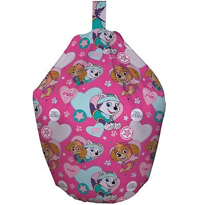 Paw Patrol Pals Bean Bag Filled Cotton Cover Kids Girls Bedroom