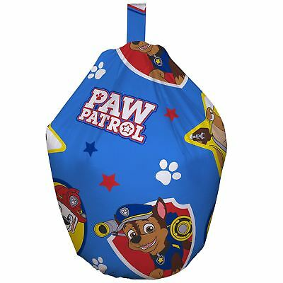 Paw Patrol Pawsome Bean Bag Filled Cotton Cover Kids Boys Bedroom